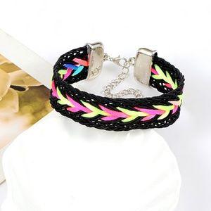 Jewelry - Fun Multicolor Weave Bracelet